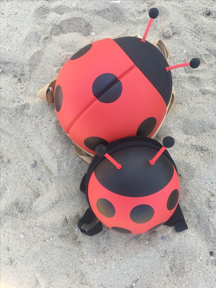 Ladybug backpack www.bizzandbee.com