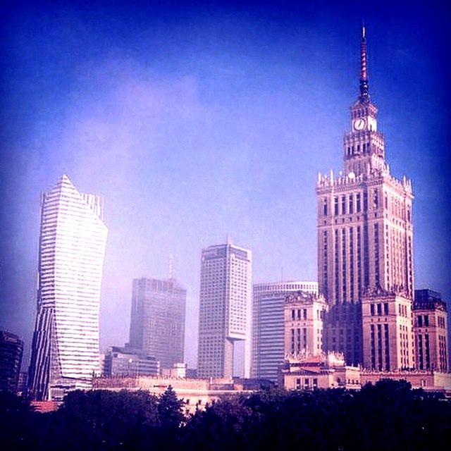 #warsaw #city #poland #architecture #sky