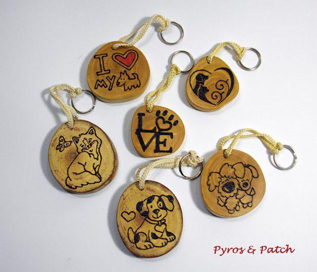 Pyros & Patch: Portachiavi Love dog&cat
