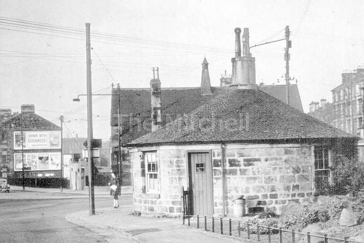 Pollokshaws Roundhouse, 1955