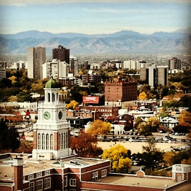The beauty of Denver. Photo by sofialock