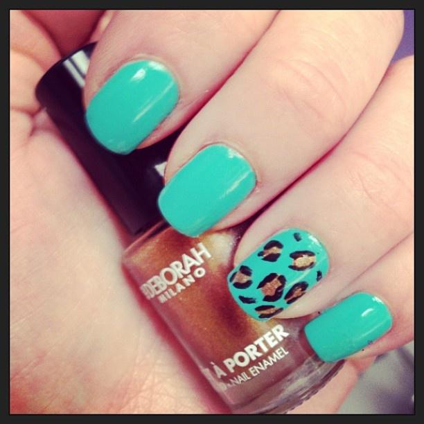 .@kissandmakeup01 | Nail art di oggi con smalti @DeborahMilano e @LAYLACOSMETICS :)  #notd #nail... | Webstagram - the best Instagram viewer