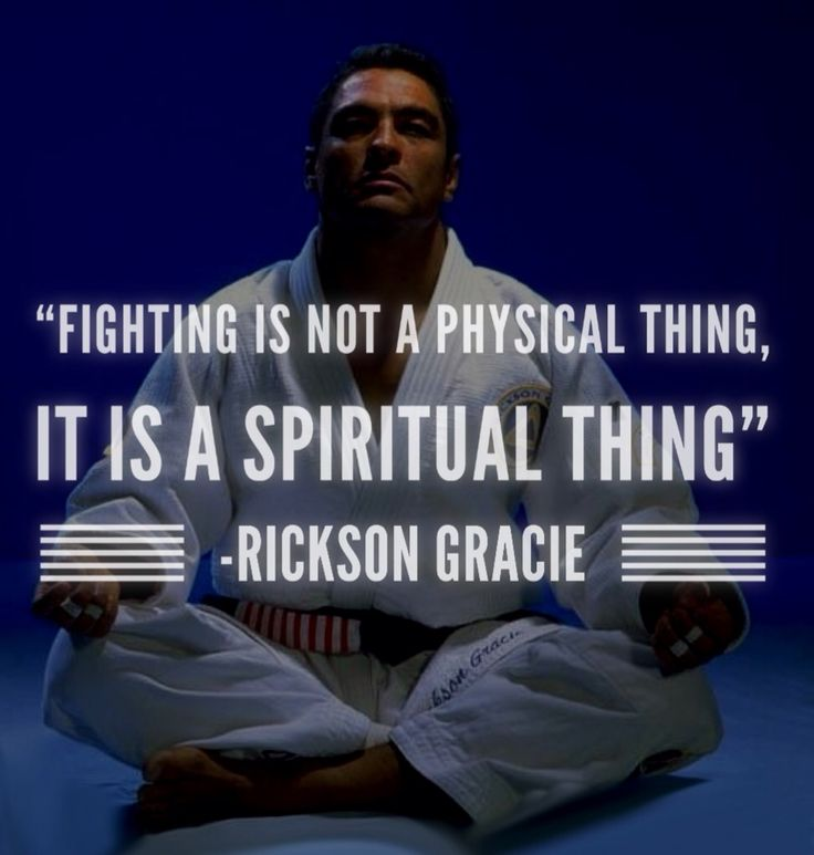 Rickson Gracie bjj JiuJitsu mma quote Follow @bjj_philosophy on Instagram