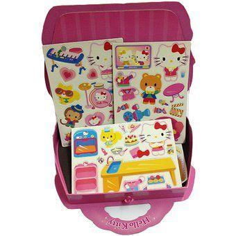 Set Imanes Entretenidos Hello Kitty
