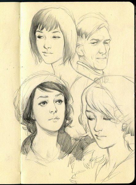 Wesley Burt's sketches | 122 фотографии