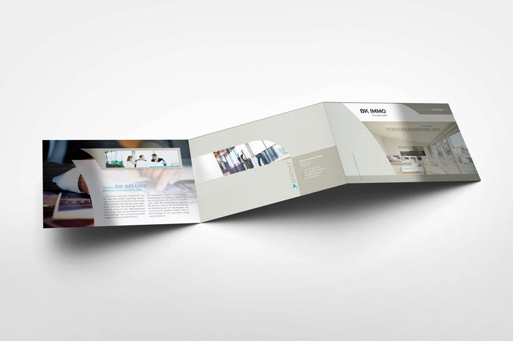 BK IMMO | Imagefolder, Slogan, Webdesign, Print by Big Pen