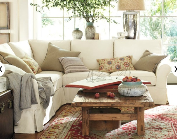 pottery barn living room living room pinterest will