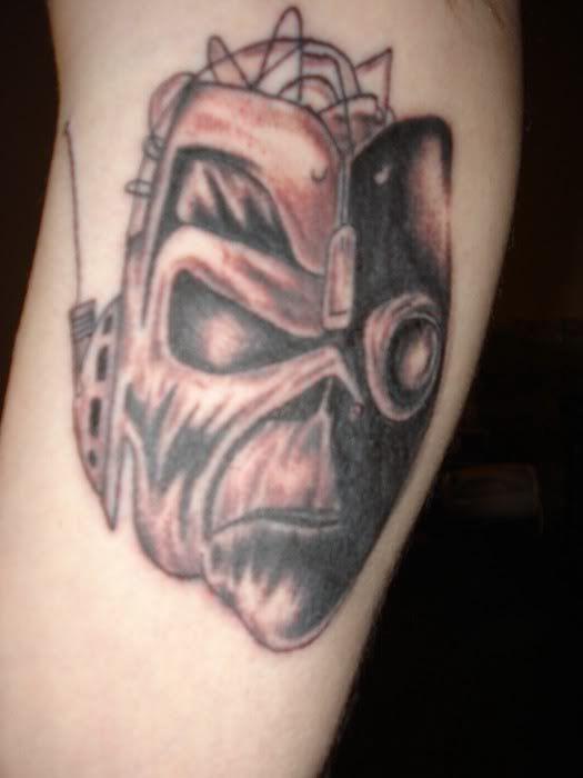 Iron Maiden Tattoo - 31.03.11 - YouTube  |Iron Maiden Somewhere In Time Tattoo