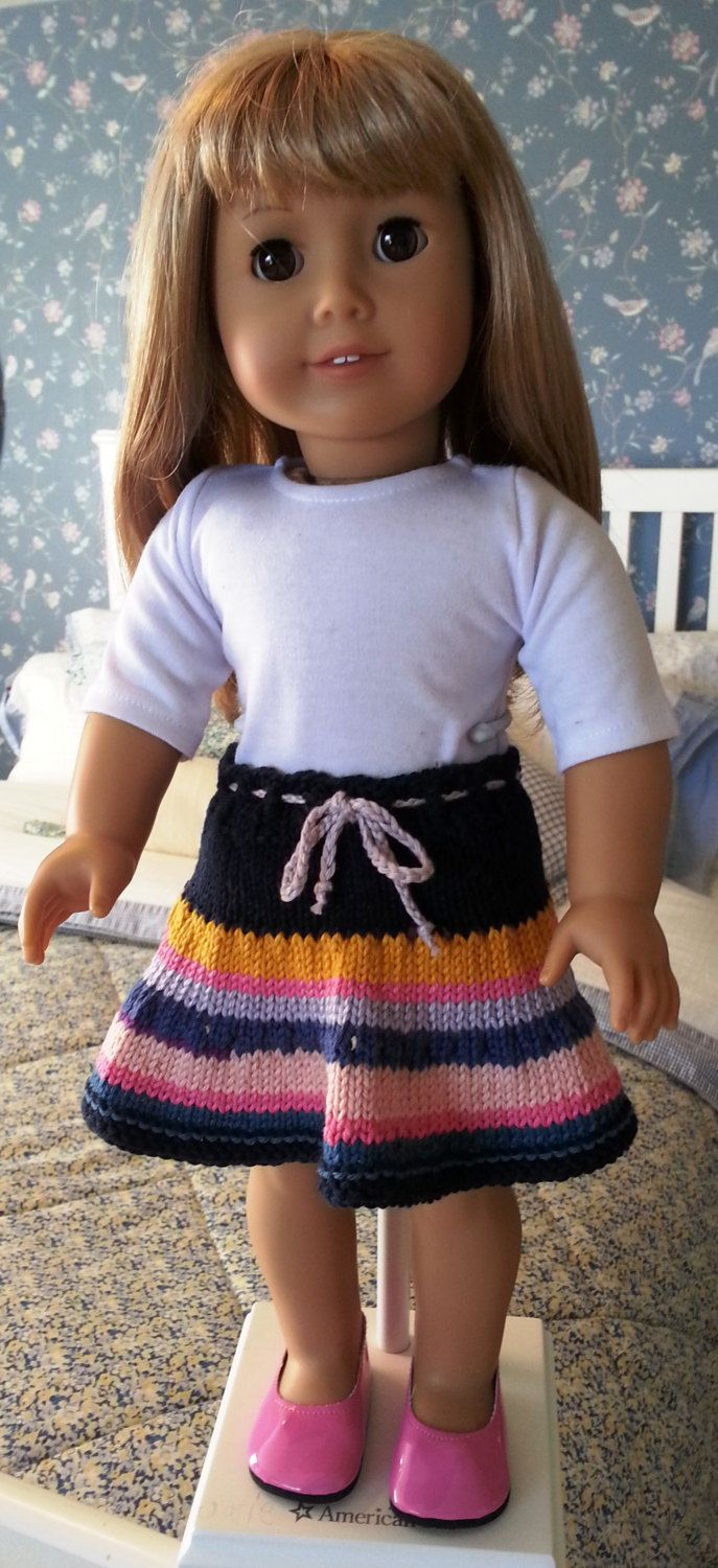Knitting Skirt Girl : Images about quot dolls on pinterest patterns doll