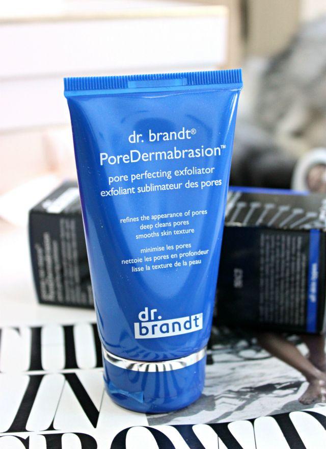 Skin Exfoliation: dr. brandt PoreDermabrasion Review
