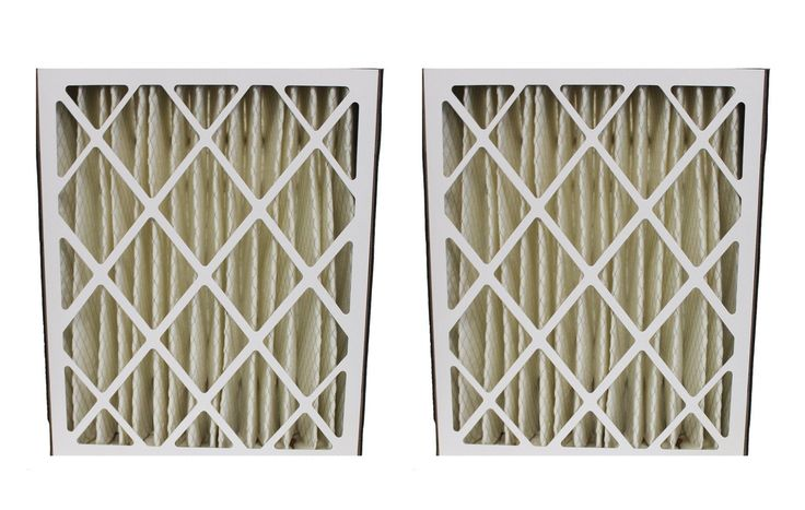 2 Honeywell 20x25x5 MERV-8 HVAC Furnace Filters Fit F100, F200 & SpaceGard   Part # FC100A1037