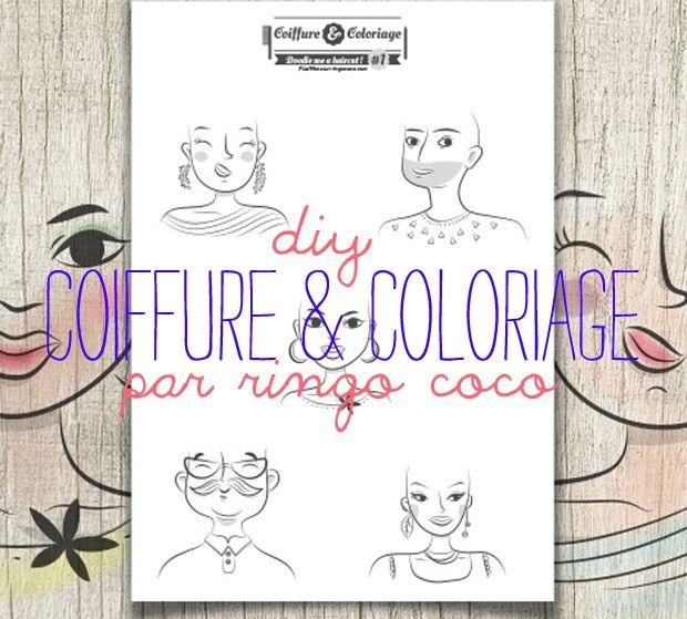 Diy : coiffure et coloriage