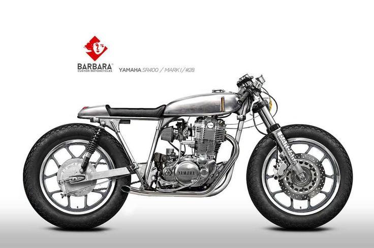 "Yamaha SR400 Cafe Racer design ""Mark I"" Nº28 by Barbara Custom Motorcycles #motorcycles #caferacer #motos | caferacerpasion.com"