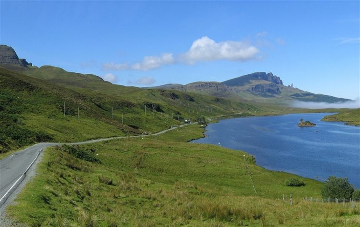 Skye Scotland   When you want to refresh our historic memories Skye then make sure that you stop of at the lovely village of Kyle of Lochalsh in the Highlands of Scotland.