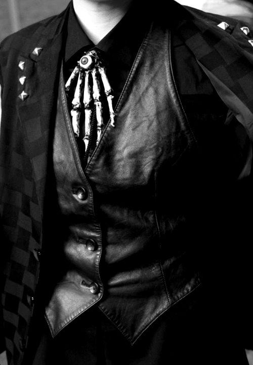 Gothic mens fashion
