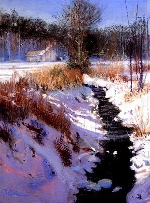 Winter Light by Tom Christopher Pastel ~ 30 x 24