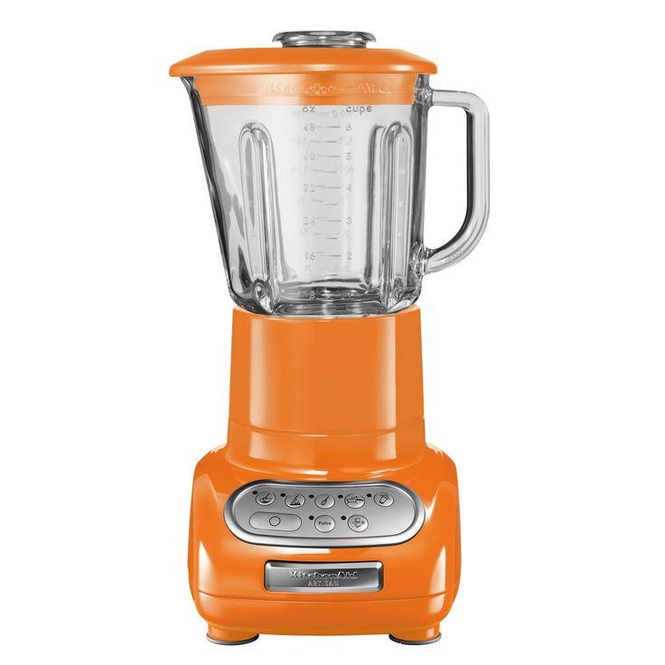 Kitchenaid Artisan Blender, Tangerine: Artisan Blender for true cooks and chefs, blending is an art. Too much and your… #ShoppingUK