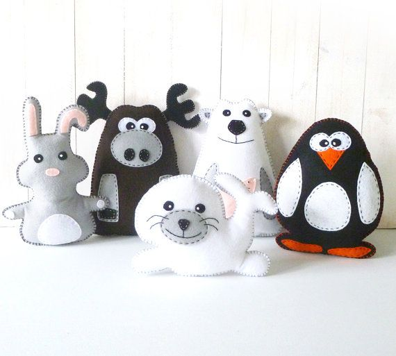 Stuffed Seal Sewing Pattern Plush Seal por LittleSoftieShoppe