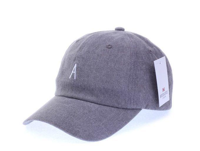 A Logo Gray Ball Cap - Baseball Cap / Casual Cap / Couple Cap / Student Cap #Unbranded #Simple