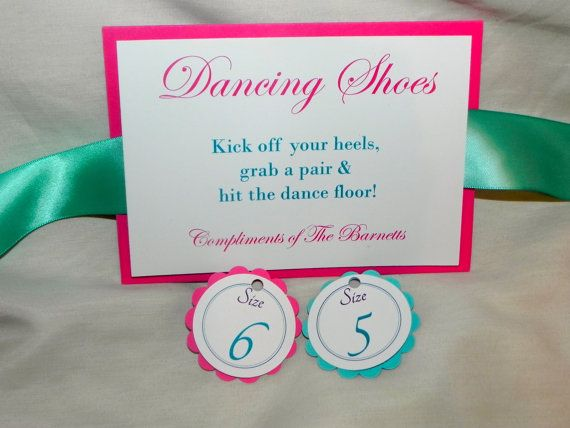 Wedding Sign/Flip Flop Basket Sign in by MySentimentsInvites, $7.00