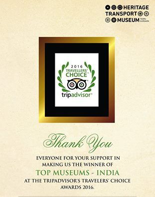 Within two and a half years of our opening, we are the 2016 Travelers' Choice Winner in the category TOP MUSEUMS - INDIA. This award is the Highest Honor given by TripAdvisor. We owe this award to all of YOU. @tripadvisorus #tripadvisor #travelerschoice #travel2016 #travel #award
