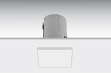 Lens semi-recessed square / Lens semiempotrado cuadrado / Lens halbeingebaut Quadratisch