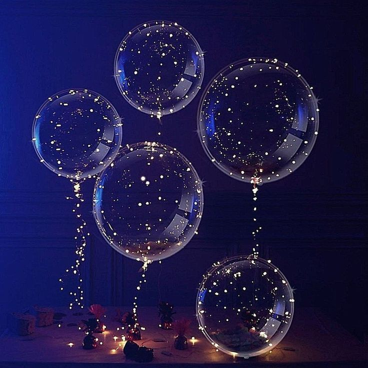 Details about LED Shine Balloons Party Balloon Graduation Birthday Wedding Event Fast Ship