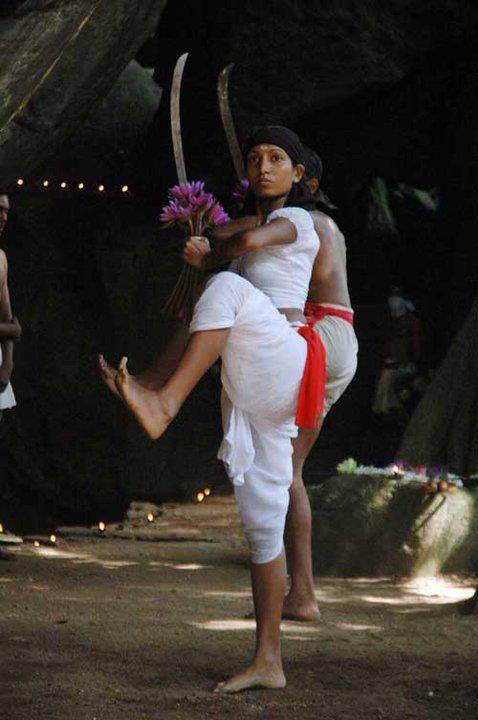 Sri Lankan Sinhalese Traditional Martial Art ( Angampora)