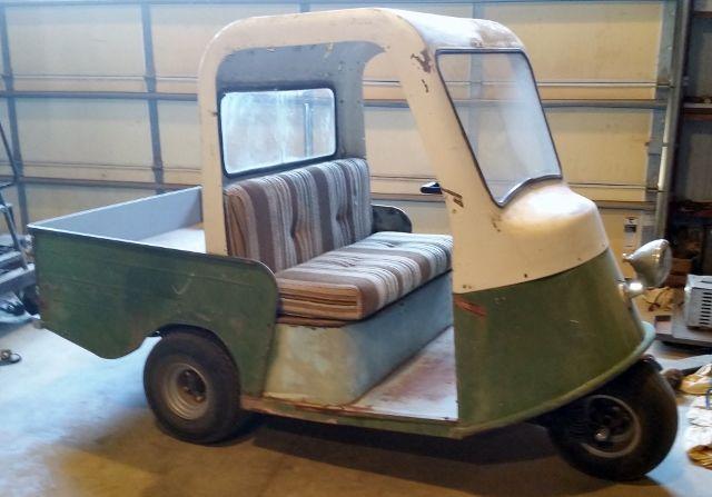 Rare vintage Marketeer golf cart for sale