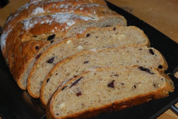 Mediterranean Black Olive Bread from Food.com: This bread takes some ...