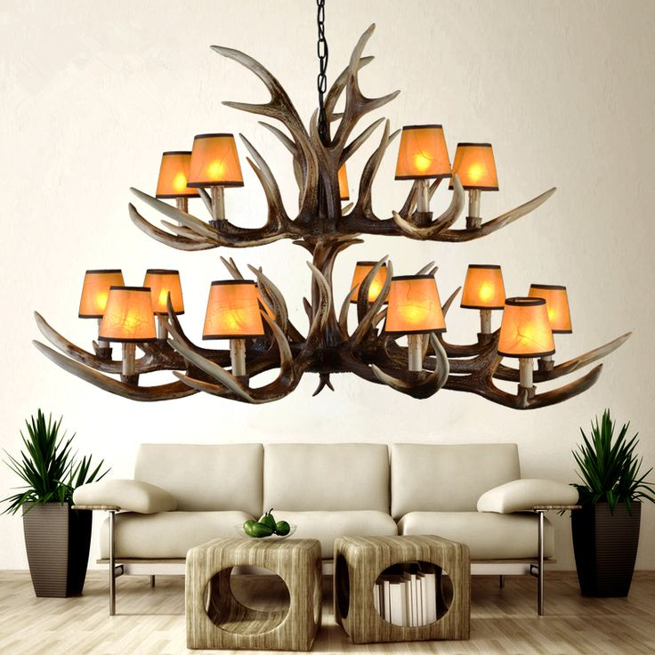 Modern candle antler chandelier lampshade e14 AC 90-260V lustre led lamp pendientes kroonluchter lampadario moderno lighting new *** Read more reviews of the product by visiting the link on the image.