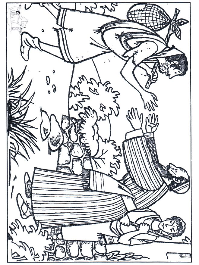 luke three parables prodigal son coloring page - Father Coloring Page Catholic