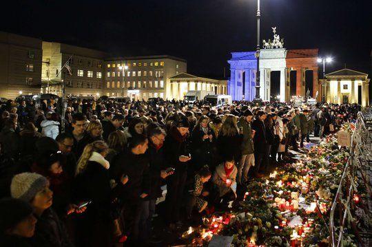 La Porte de Brandebourg, à Berlin