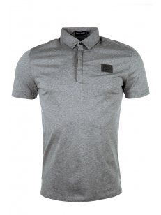 Black Badge Polo T-Shirt Grey