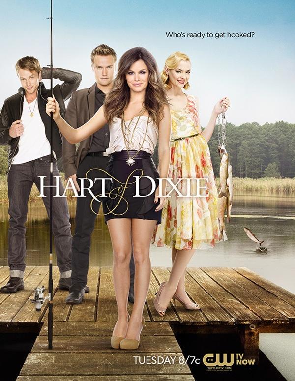Wilson Bethel (Wade Kinsella) , Scott Porter (George Tucker) , Rachel Bilson (Dr. Zoe Hart) , & Jaime King (Lemon Breeland) - Hart of Dixie