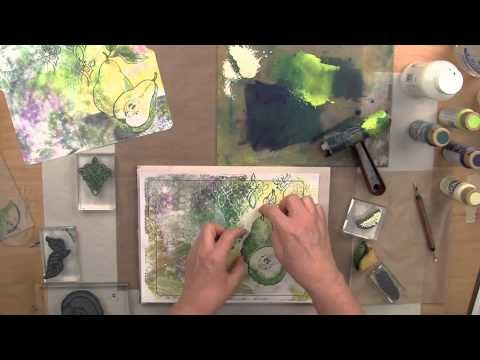 ▶ Creative Palette - Templates - YouTube - Enjoy FREE Templates for use with your #Stampendous Creative Palette to make file folder cards and pillow box gift boxes.