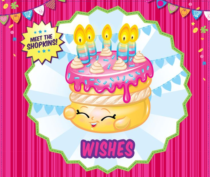 Celebrate Your Birthday With Wishes shopkins birthday toys