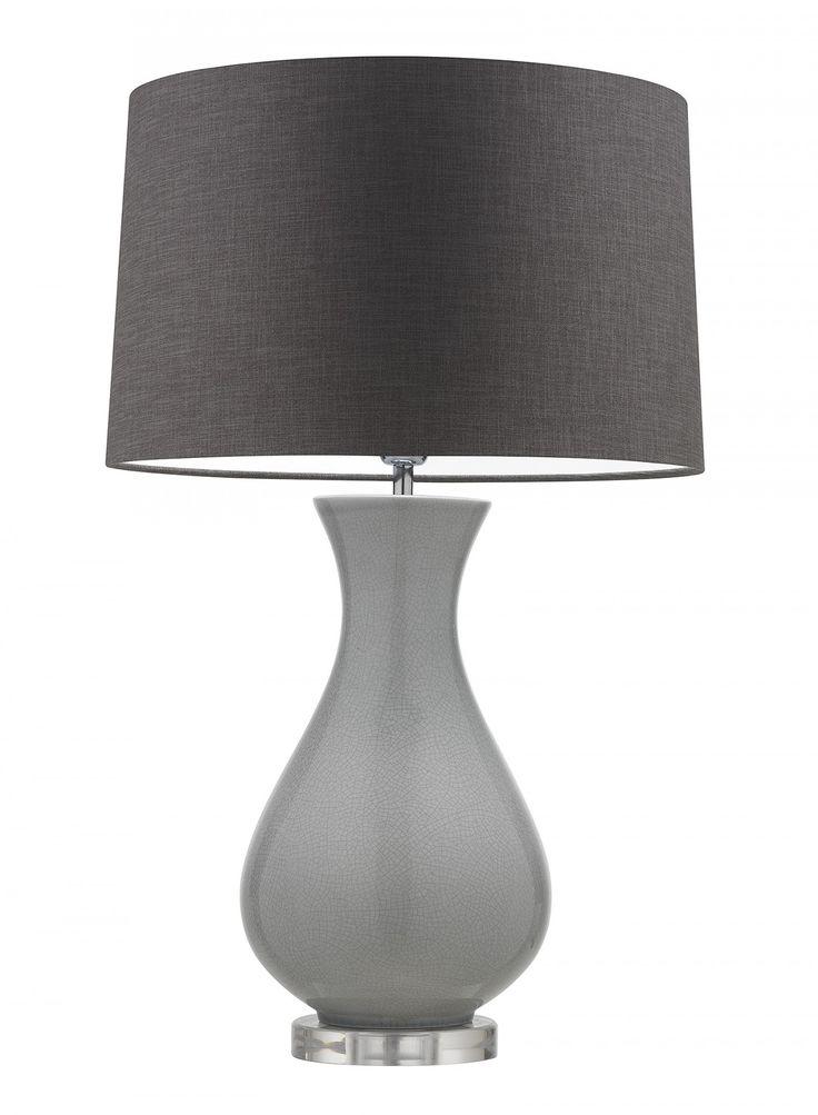 Somerton Glacier Table Lamp - Heathfield & Co