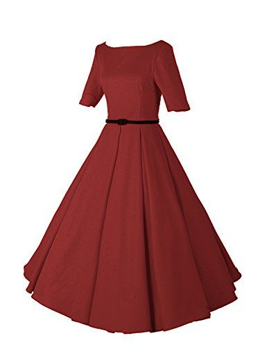 iLover Women 1950s V-Neck Vintage Rockabilly Swing Evening  https://www.amazon.com/gp/product/B01E6YJ70E/ref=as_li_qf_sp_asin_il_tl?ie=UTF8&tag=rockaclothsto-20&camp=1789&creative=9325&linkCode=as2&creativeASIN=B01E6YJ70E&linkId=9392894ae212fdf030b8d2ec313a4183