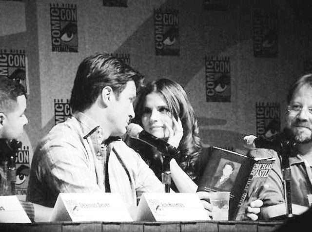 I will forever love this photo, and the way they look at each other, even if they were just doing it for the fans, we appreciated it. I just wished I could have seen them in comicon before the show ended or even better on the set of the show. I guess that dream will never come true now -  -  I have two Chem quizzes tomorrow