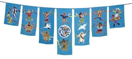 Peace Flag - Children's Peace Dance
