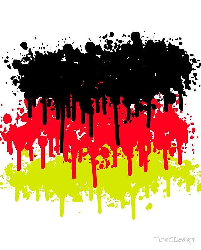 Schwarz Rot Gold, Deutschland, Weltmeister | Grafik T Shirt
