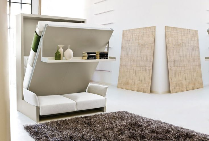 Murphy Bed With Couch Small Spaces