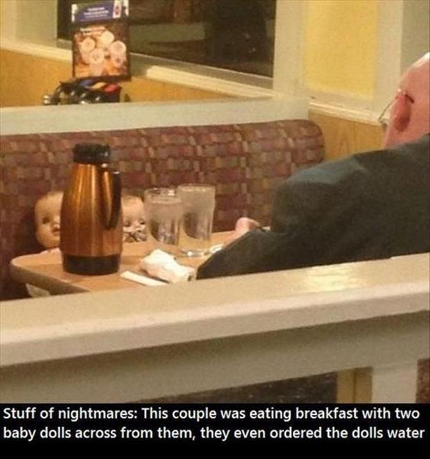 Ok, that's just creepy...