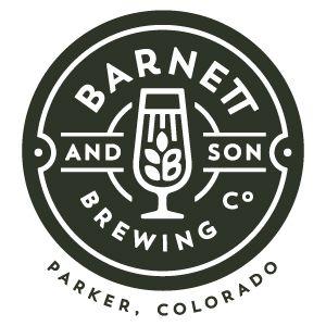 Barnett and son | Brewing co Parker, Colorado Alcohol | Beverage | logo | crest | bradge