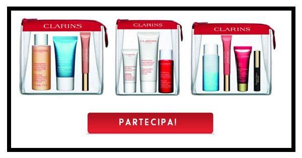 Vinci gratis un beauty kit Clarins