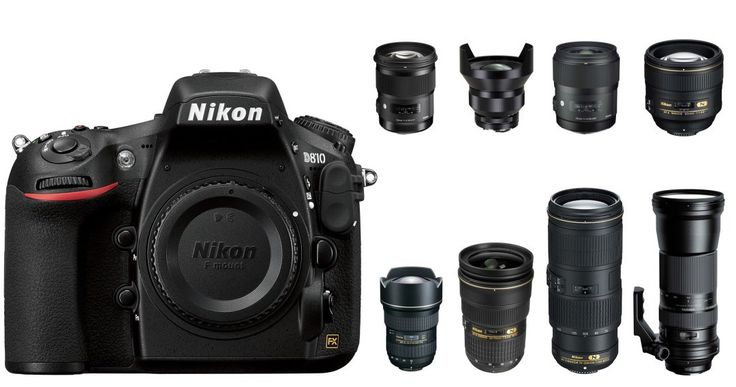 Top Recommended Lenses for Nikon D810