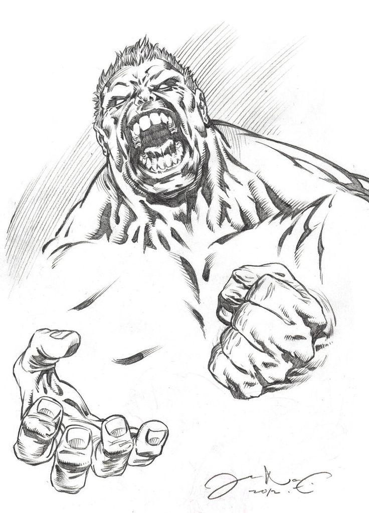 #Hulk #Fan #Art. (Angry Hulk) By:IwanNazif. ÅWESOMENESS!!!™ ÅÅÅ+