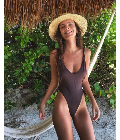 Emily Ratajkowski au Mexique