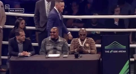 Trending GIF boxing conor mcgregor mayweather floyd mayweather mcgregor may mac world tour maymacworldtour mayweather vs mcgregor